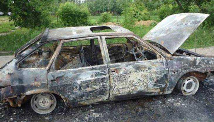 Брянец сжёг «девятку», отомстив автомобилистке