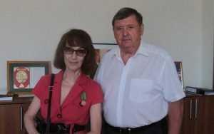 Брянскому журналисту Галине Насоновой вручили медаль