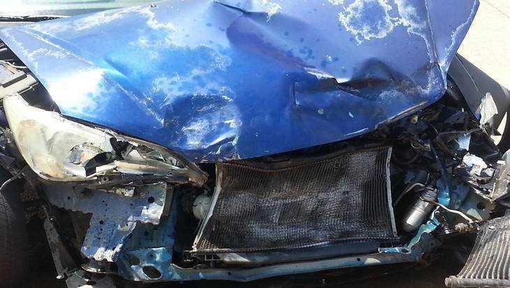 В Брянске виновник ДТП сбежал с места аварии