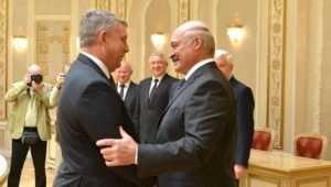 Президент Белоруссии и брянский губернатор встретились в Минске