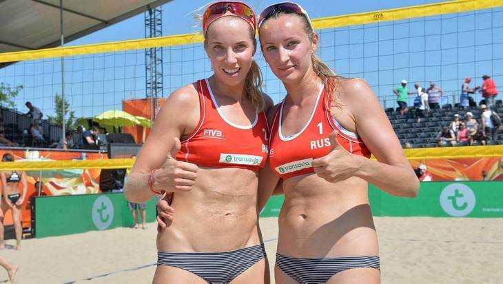 Брянская пляжница вышла в четвертьфинал Олимпиады