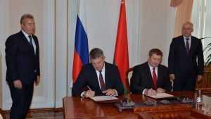Брянщина и Белоруссия ударили по рукам