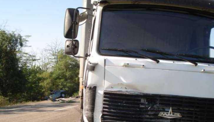 Под Брянском грузовик задавил пенсионерку на «зебре»