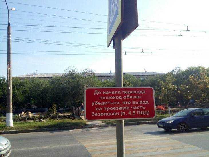 Брянцы предложили напомнить пешеходам дорожные правила