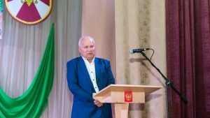 Виктор Киселев поздравил брянских военнослужащих Нацгвардии с юбилеем