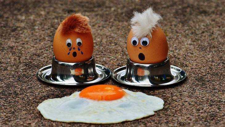 Яйца не прошли брянский контроль из-за маркировки