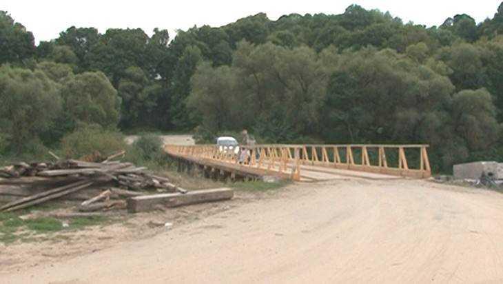 Брянские строители подарили городу Сельцо новый мост