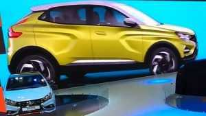 «АвтоВАЗ» представил на Московском автосалоне шесть новинок