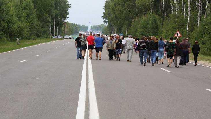 Трассу Брянск – Смоленск значительно обновили
