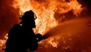 В Брянске сгорела «Волга»