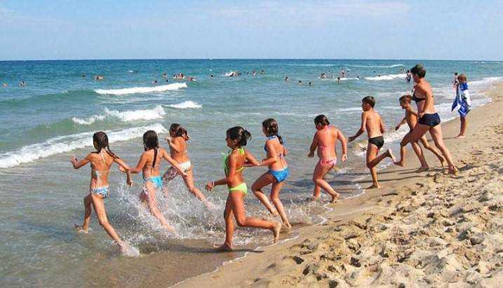 В Крыму в сентябре отдохнет тысяча брянских детей