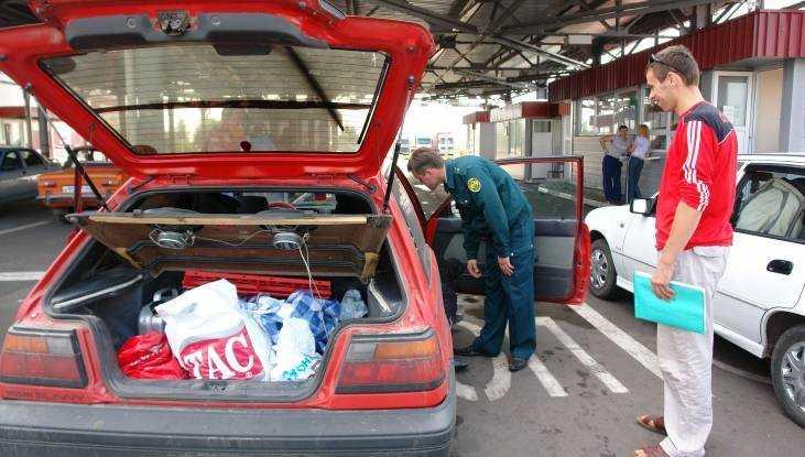 Забывчивых иностранцев брянская таможня лишила 42 машин