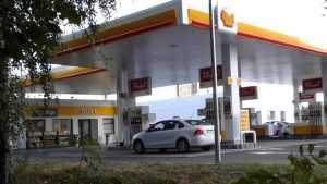 В Брянске открылась первая заправка Shell