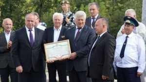 Кокоревке присвоили звание «Поселок партизанской славы»