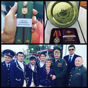 Брянская дзюдоистка Наталья Кузютина получила лейтенантские погоны