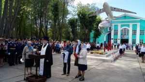 В Сеще совершили молебен о погибших брянских воинах
