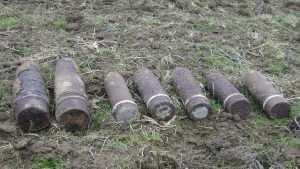 В двух брянских районах нашли снаряды