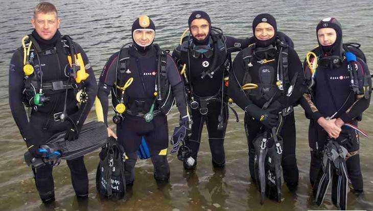 Брянские любители подводного мира закрыли сезон