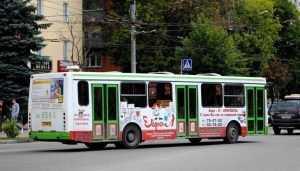 Пассажирка автобуса разбила голову в центре Брянска