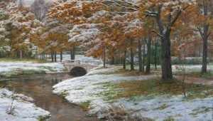 Первый снег в Брянске ожидается на следующей неделе