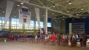 Лучшие гимнасты Центральной России покажут свое мастерство в Брянске
