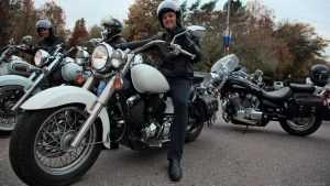 Брянские мотоциклисты закрылись на зиму