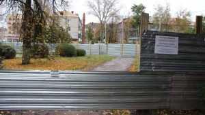 Возмутительную стройку в брянском сквере у «Полтинника» продолжат