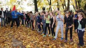 Брасовские школьники провели кросс осени