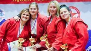Брянская самбистка Анна Жижина выиграла Кубок России