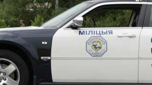 Брянские и белоруские сотрудники ГАИ выставили сети на границе