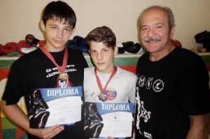 Брянские спортсмены заняли призовые места на турнире по кикбоксингу