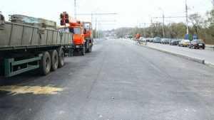Новый первомайский мост Брянска заасфальтировали