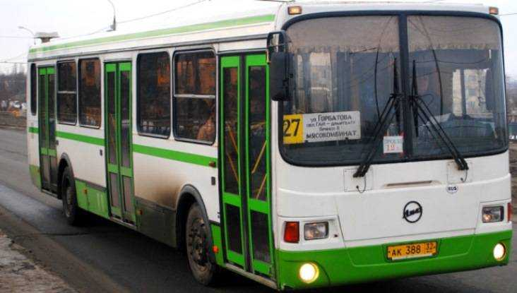 Брянская бабушка разбилась в автобусе на набережной