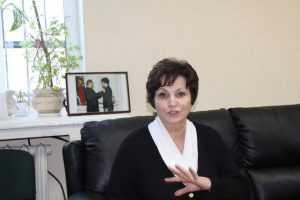 Сенатор Екатерина Лахова отчиталась Брянской думе
