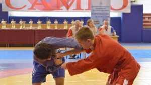 В Брянске прошел открытый турнир по самбо среди юношей