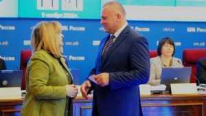 Брянского депутата Валентина Суббота представили в Госдуме
