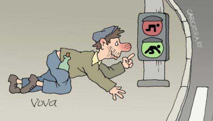 На брянских дорогах иномарки сбили пьяных пешеходов