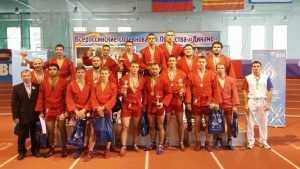 Команда брянских самбистов вернулась с чемпионата с победой