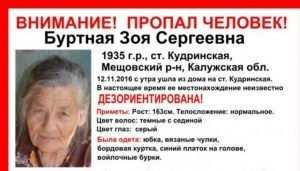 В Брянской области начали разыскивать пропавшую калужскую бабушку