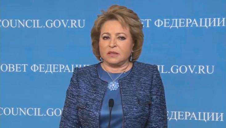 Валентина Матвиенко пообещала помощь Брянской области