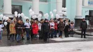 В Брянске почтили память жертв дорожных аварий