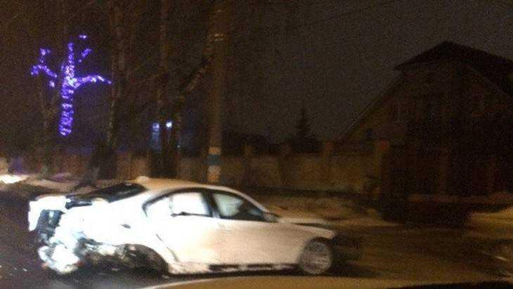 Гаишники Брянска сообщили подробности ночной аварии на Бежицкой