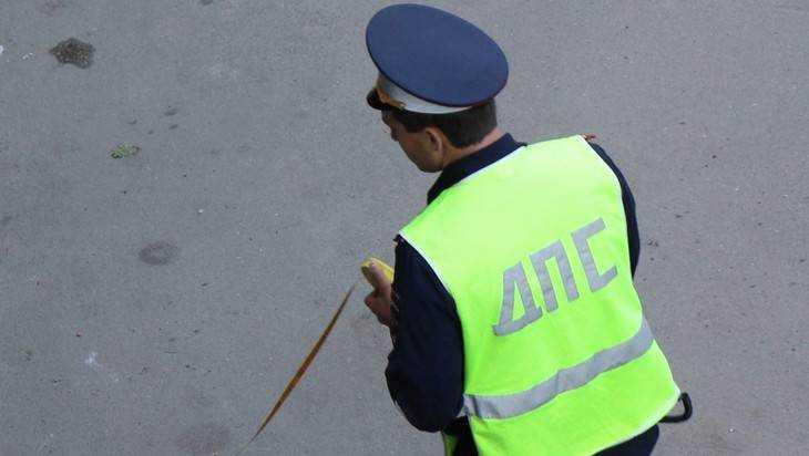 Брянская полиция начала поиски водителя, покалечившего женщину