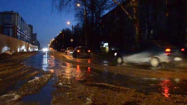 В сети опубликовали видео брянского потопа