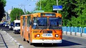 Троллейбусы Брянска отправятся по новому кольцу на Флотской 26 ноября