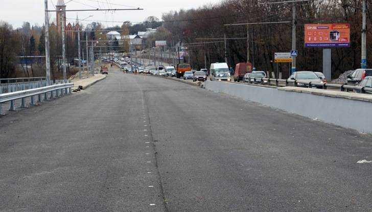 В Брянске отложили открытие Первомайского моста