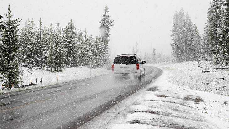 В выходные на Брянск обрушатся снегопады и сильный ветер