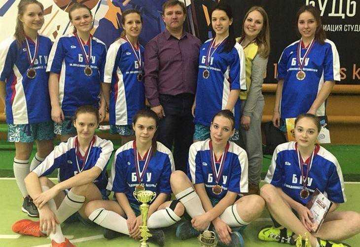 Студентки Брянского госуниверситета выиграли первенство по баскетболу