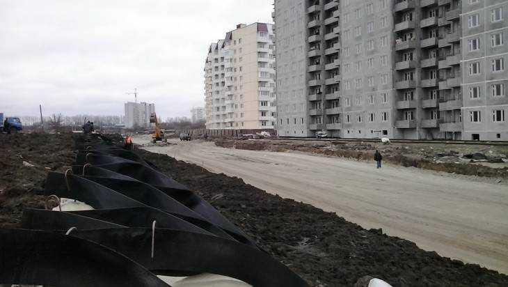 Пятый микрорайон Брянска прорезали новой объездной дорогой