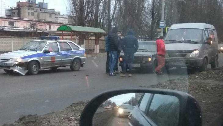 Брянцев подрезали на глазах полиции